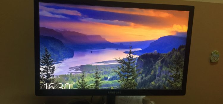 Get Samsung T22C350 tv for 500