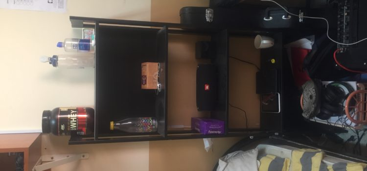 Perfect rack for usability in room. Selling it cheap for 75 only